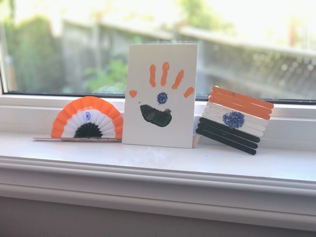 Indian Flag Kid Friendly Crafts, Teaching history,  Cultural awareness